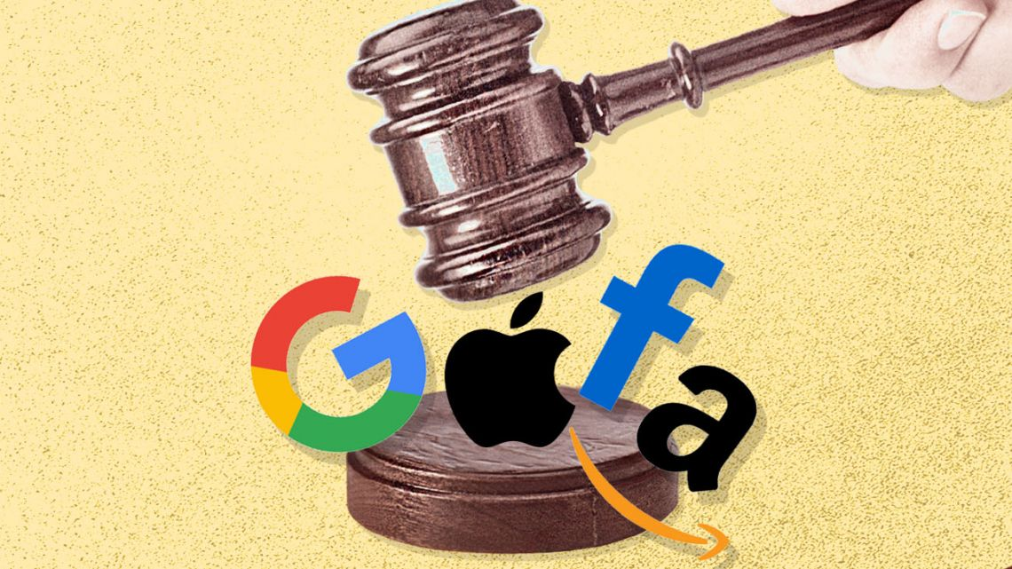 The chief executives of the world's most powerful companies, all of them Silicon Valley giants, faced US lawmakers this week at a hearing of the House Antitrust subcommittee.