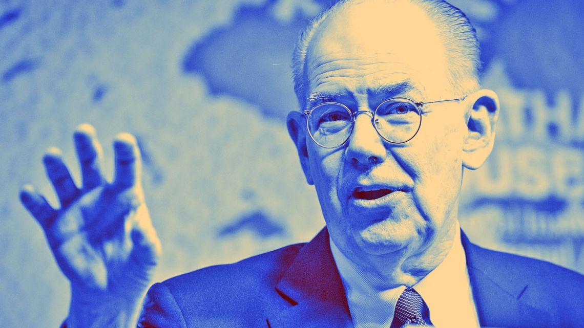John Mearsheimer, US political scientist and international relations scholar.