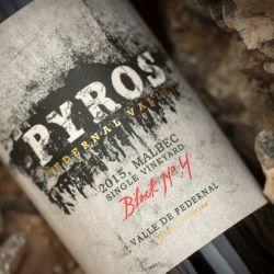 Pyros Single Vineyard Block N°4 Malbec 2015, premiado
