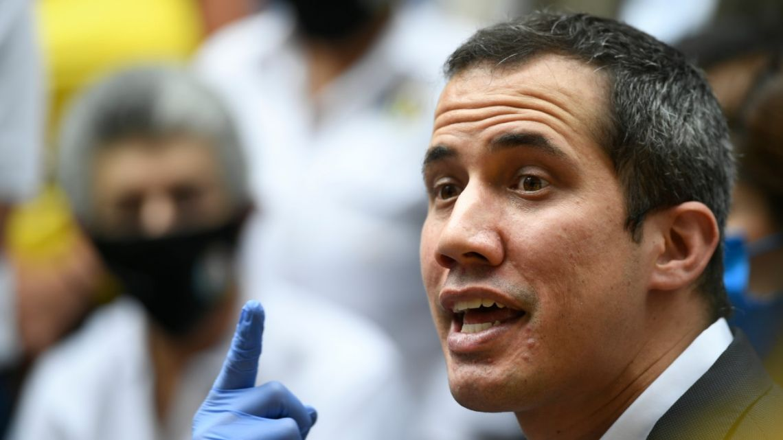 Coalition of political parties in Venezuela led by Juan Guaidó (pictured) says it won't participate in upcoming congressional elections called by officials loyal to President Nicolás Maduro.