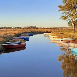 Relevamos laguna San Luis, en Bolivar, un espejo en el que la pesca se creía extinguida.