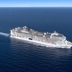 El MSC Grandiosa volverá a recorrer el Mediterráneo desde agosto y con estrictos protocolos sanitarios.