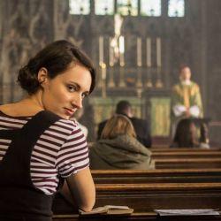 La actriz y creadora británica en su masterpiece: Fleabag.