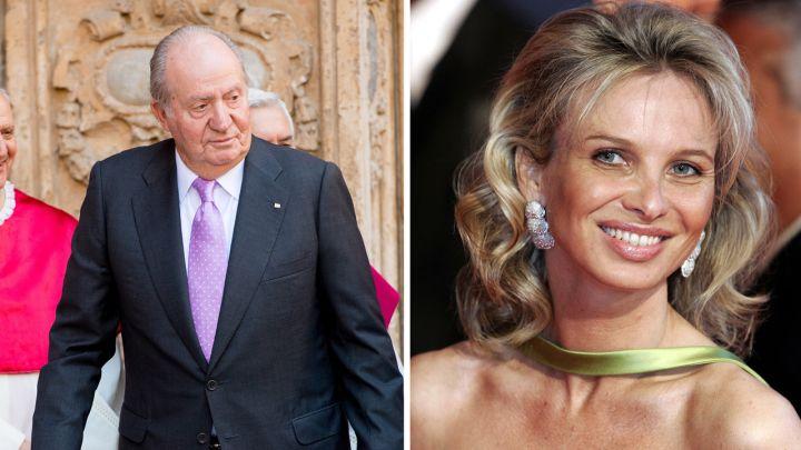 Juan Carlos abandona España: quién es Corinna Larsen, la ex amante del rey emérito