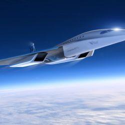 Este nuevo avión supersónico será desarrollado en conjunto con Rolls Royce.