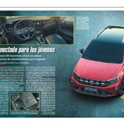 El nuevo Wolkwagen Nivus, un SUV con sistemas de seguridad y de conectividad inéditos para el segmento