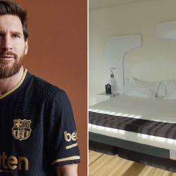 El crack argentino de BarcelonaFC pagó 1.000 euros por cada unidad de este colchón antivirus y gérmenes.