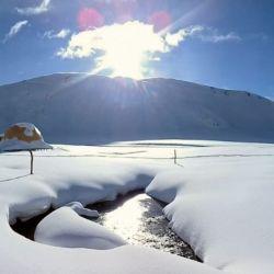 El complejo Azufre será el primer centro de esquí autosustentable del mundo.