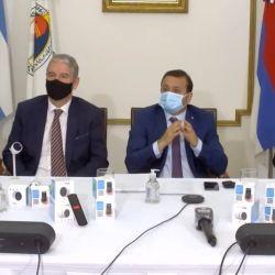 El Ministerio de Salud de Misiones hizo la presentación oficial de este innovador termómetro argentino.