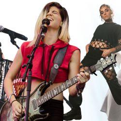 Julieta Venegas, Lula de Eruca Sativa, Sara Hebe y Zoe Gotusso.