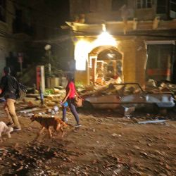 Explosión cerca del puerto en la capital libanesa Beirut el 4 de agosto de 2020. - Dos grandes explosiones sacudieron la capital libanesa Beirut, hiriendo a decenas de personas, sacudiendo edificios y enviando enormes columnas. de humo ondeando hacia el cielo. | Foto:afp