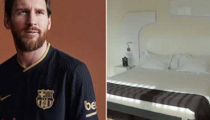 Qué características tiene el colchón que compró Messi para protegerse del coronavirus.