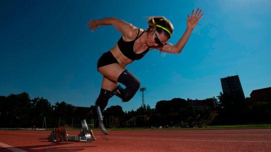 Fotogaleria Atleta Paralímpica Sara Andrés