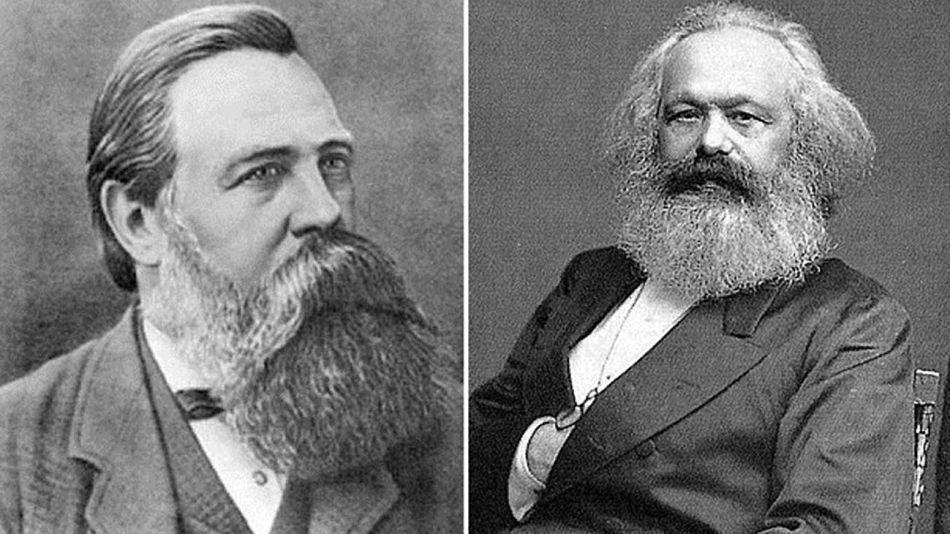 Federico Engels y Carlos Marx 20200804