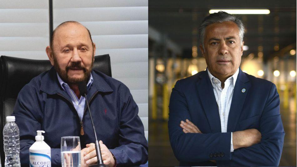 Gildo Insfrán y Alfredo Cornejo 20200804