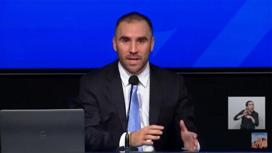 Martín Guzmán sobre el acuerdo de reestructuración de la deuda. 20200804