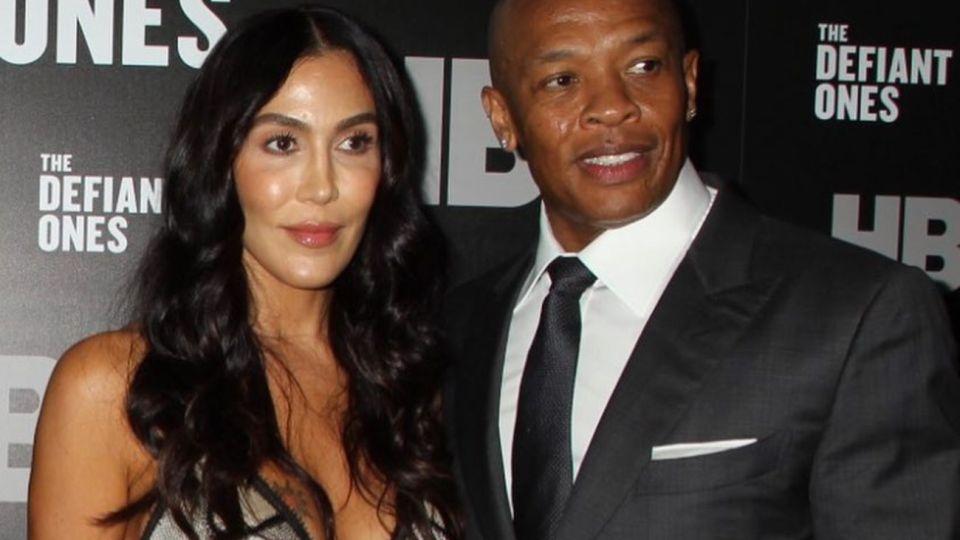 Dr. Dre y su ex, Nicole Young