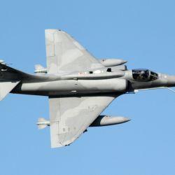 Caza Lockheed Martin A-4AR Fightinghawk (Halcón luchador), cazabombardero estadounidense creado para la Fuerza Aérea Argentina en 1995.