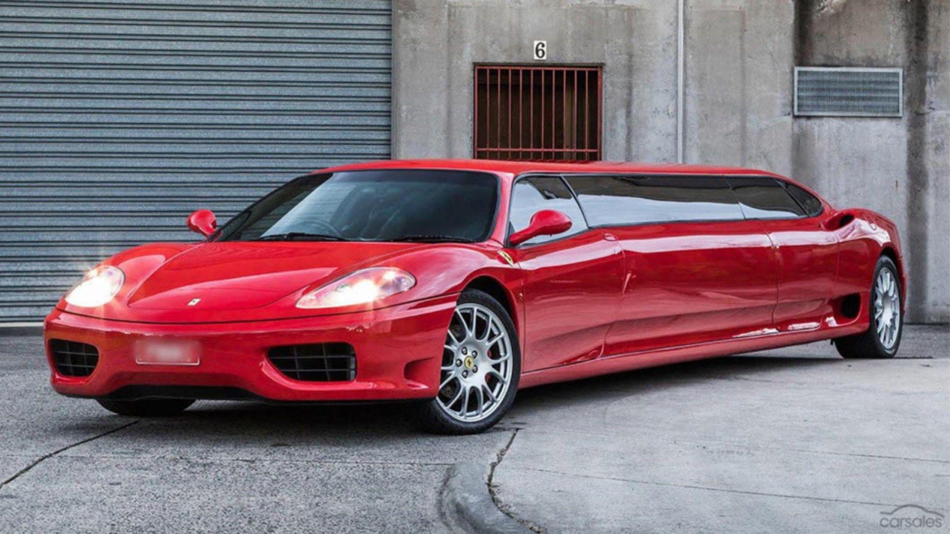 Parabrisas Piden 285 000 Dólares Por Una Ferrari Convertida En Limusina