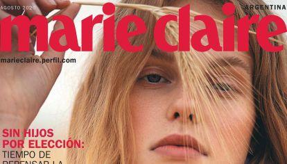 Agosto en Marie Claire.