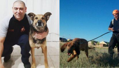 Quién es Marcos Herrero, el entrenador de perros rastreadores de los casos Astudillo y Maldonado