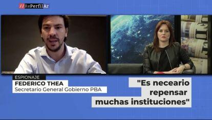 """Federico Thea dio detalles de """"La Justicia Acusada"""""""