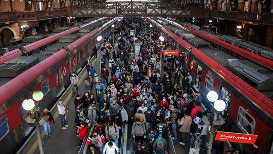 Fotogaleria Brasil Estacion De Trenes