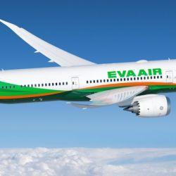 EVA Air vendió 309 asientos para el vuelo sobre el noreste de Taiwán y luego hacia las islas japonesas de Ryukyu.