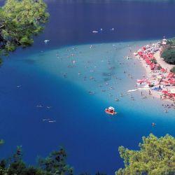 Los peces ya eligieron a la espectacular nave sumergida en el mar Egeo en su refugio ideal.