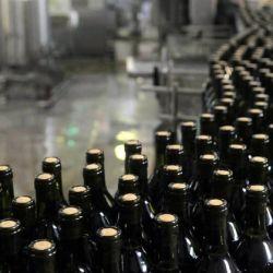 Exportación de vino.