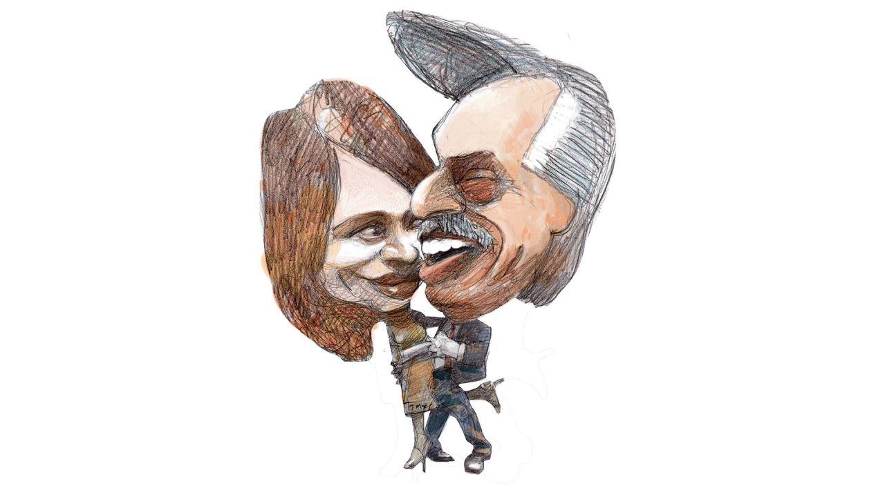 Alberto Fernández y Cristina Kirchner | Foto:Pablo Temes