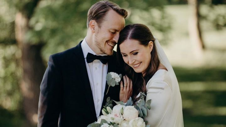 Sanna Marin, la Primera Ministra finlandesa, se casó con el futbolista Markus Räikkönen