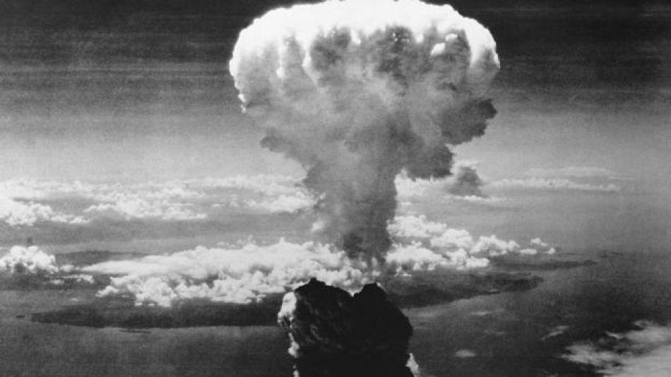 Bomba atómica en Hiroshima.