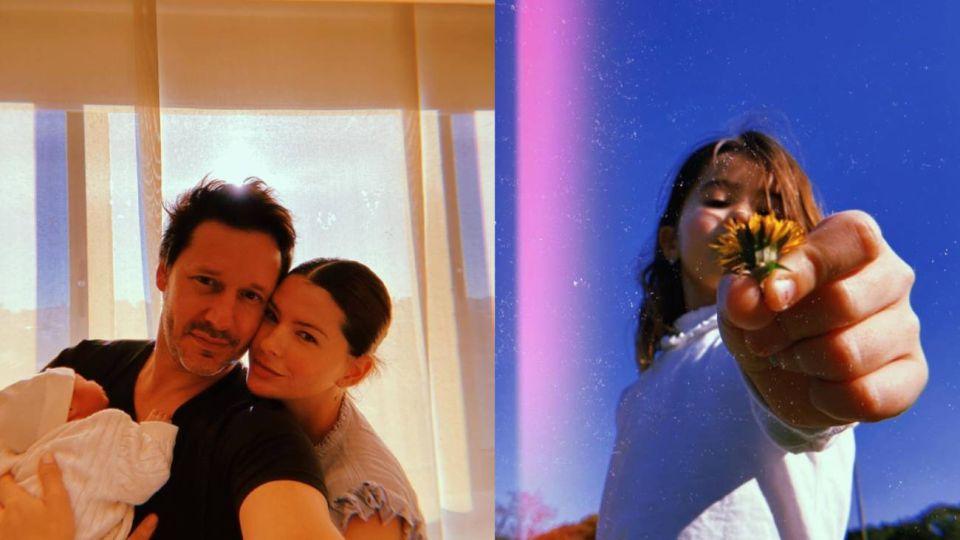 La foto de Rufina Cabré con Amancio en brazos que hizo estallar las redes