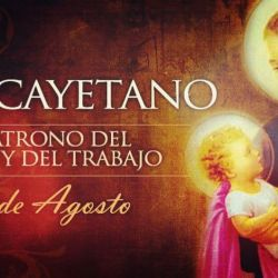 San Cayetano nació el 1 de octubre  de 1480 en Vicenza, bajo el nombre real de Gaetano Thiene.