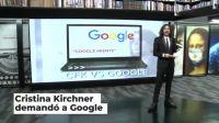 La pelea CFK vs Google