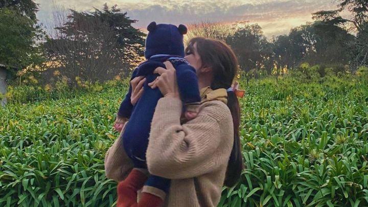 ¡Cómo creció! Zaira Nara mostró una foto de su bebé y es parecido a Francesca