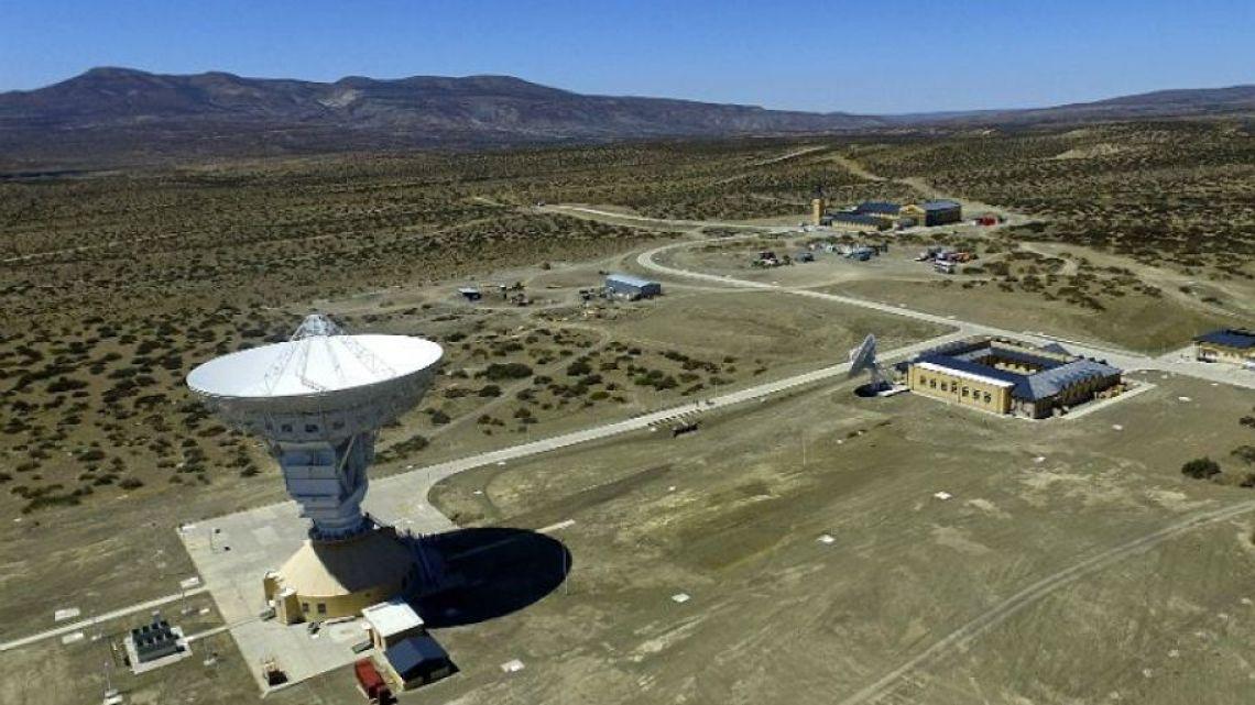 La Estación de Espacio Lejano in Neuquén.