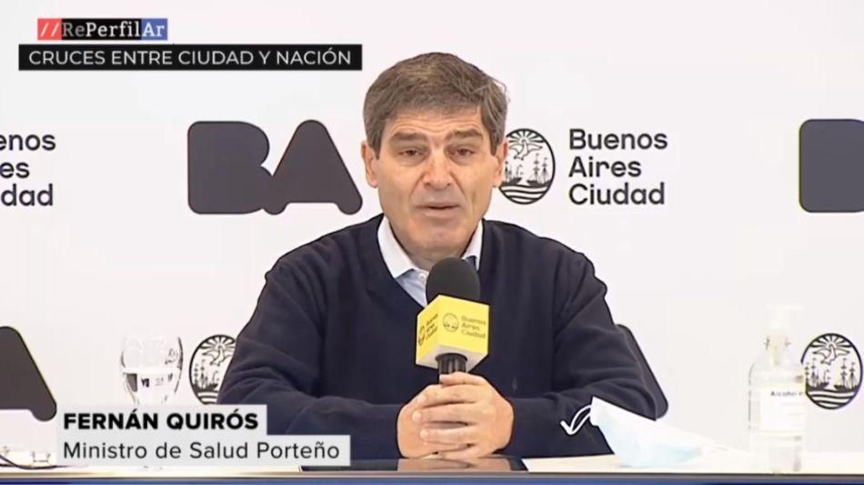 Fernán Quirós en contra del nuevo criterio para detectar casos de covid-19Foto: Rerfilar