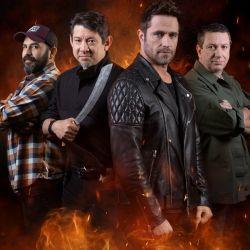 Junto al presentador Michel Brown, este año los jurados de Desafío sobre fuego Latinoamérica son Mariano Gugliotta, Doug Marcaida y Ricardo Vilar.