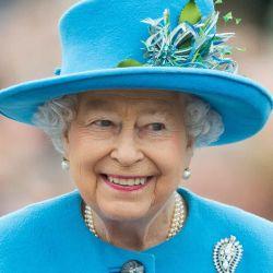La reina y sus jardines.