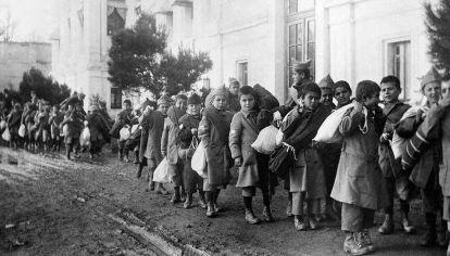 No olvidar. Una de las muchas imágenes del genocidio de 1915/24 contra los armenios.