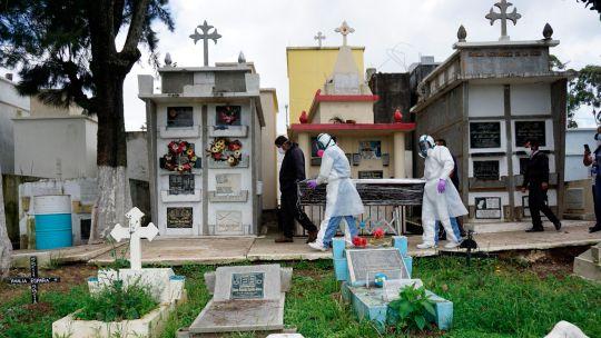 Fotogaleria Guatemala Coronavirus Cementerio