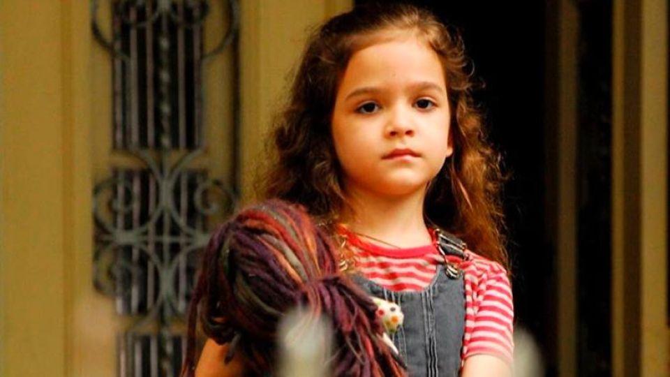 """Melissa Maia de Sousa en su papel de """"Rita"""" de """"Avenida Brasil"""""""