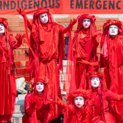 Inglaterra, Londres: Miembros de la  | Foto:Dominic Lipinski / PA Wire / DPA