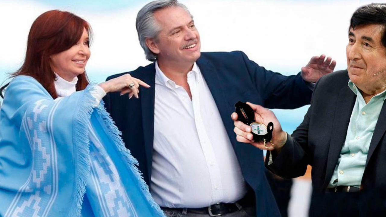 Cristina Kirchner y Alberto Fernández - Durán Barba | Foto:Montaje