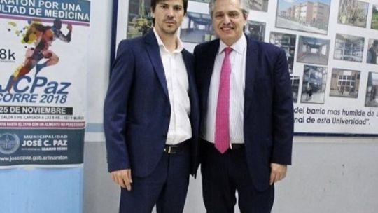 Federico Thea, el día en que conoció a Alberto Fernández.