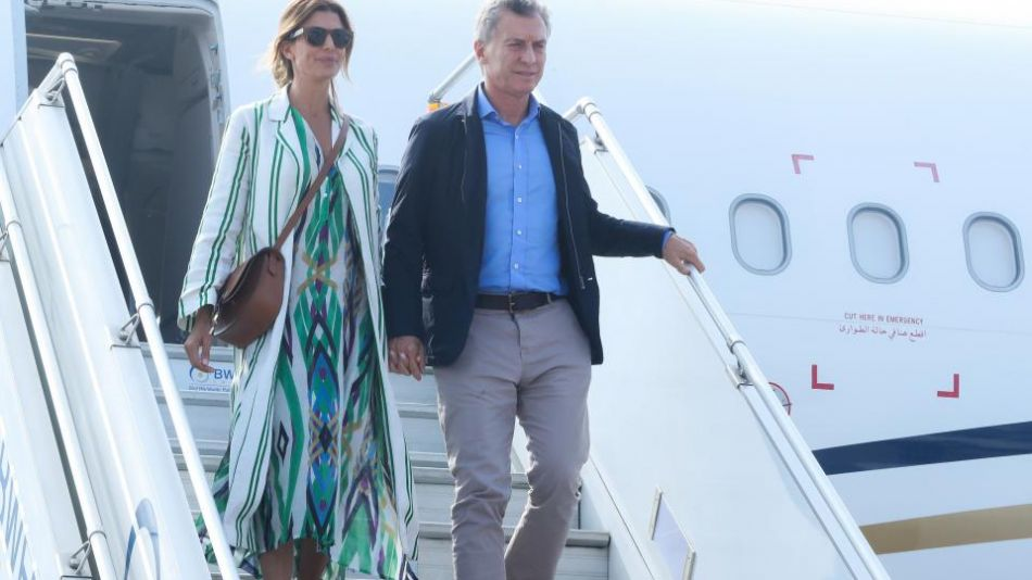 Mauricio Macri y Juliana Awada.