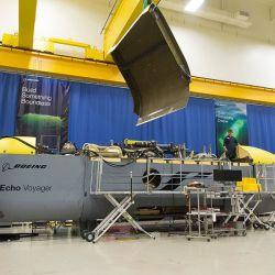 El Orca es un robot submarino desarrollado por Boeing.