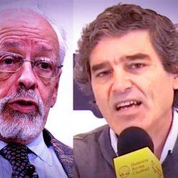 Horacio Verbitsky y Fernán Quirós.